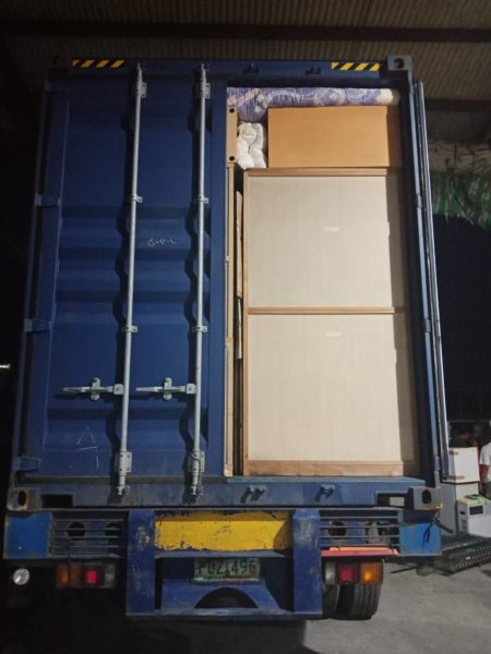 RPJ BULACAN UNLOADING CONTAINER