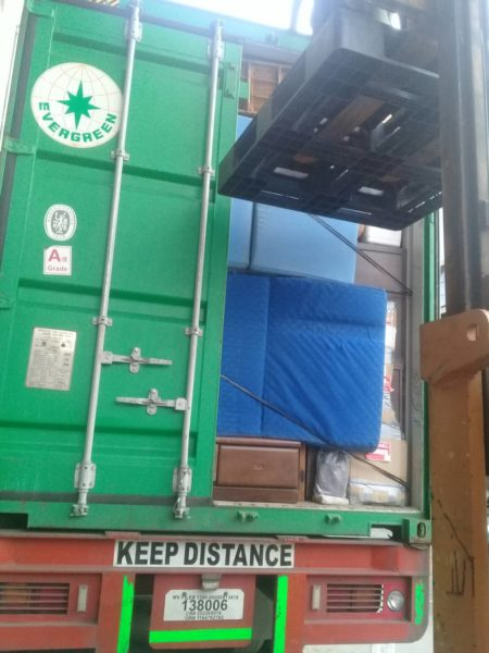 RPJ ALABANG UNLOADING 2ND CONTAINER